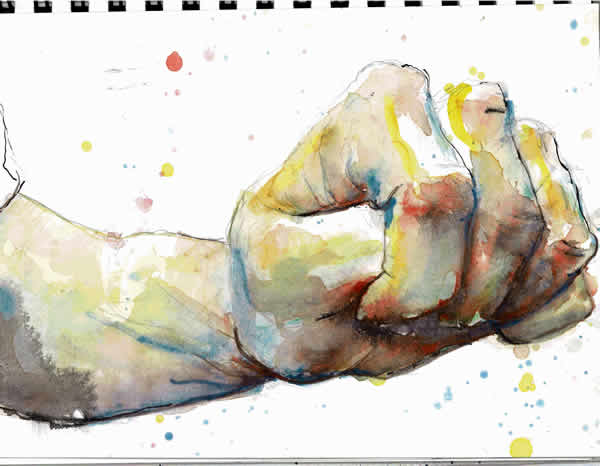 fist©watercolour-3