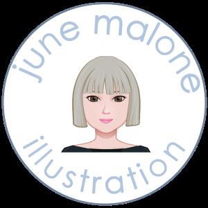 June Malone Illustration